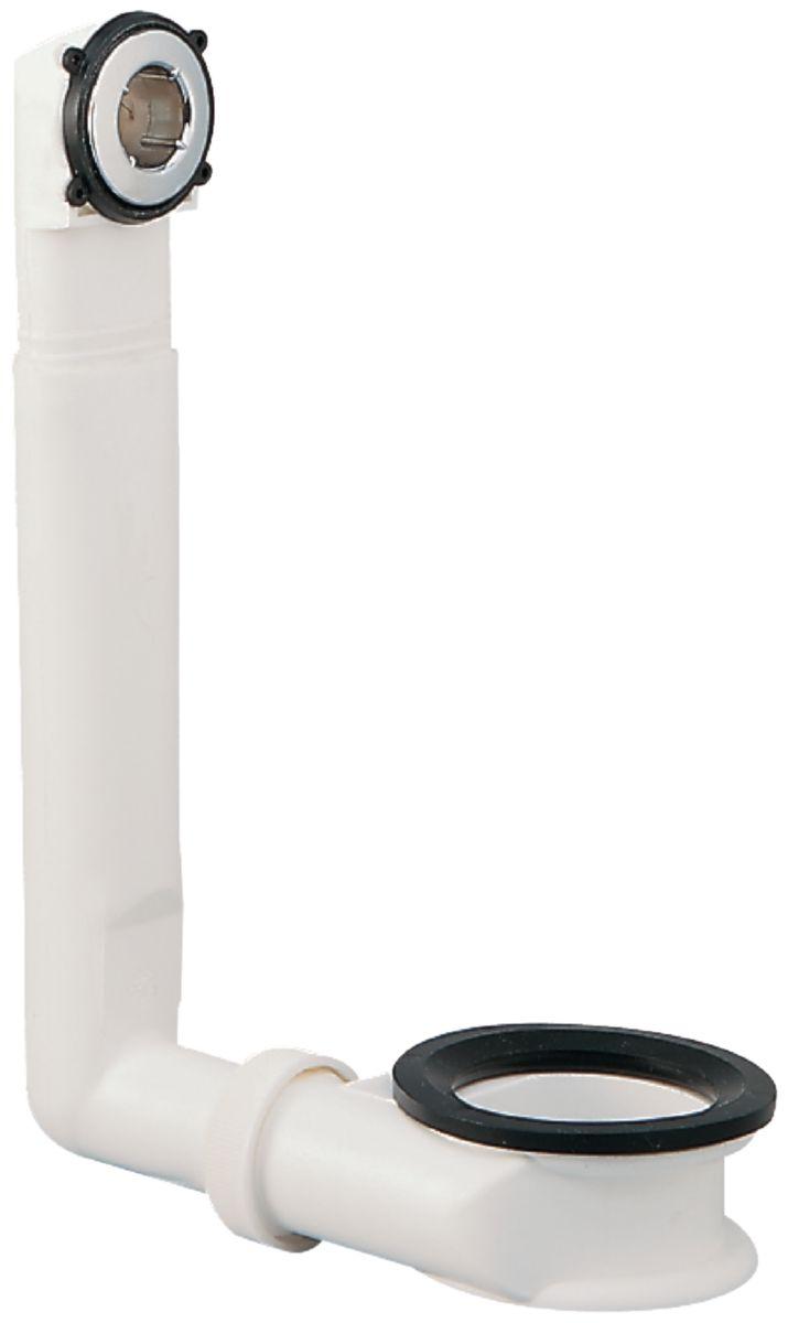 Ensemble trop-plein en plastique avec enjoliveur D25 à 30mm Réf D5843AA