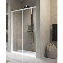 Paroi de douche lunes 2p 114cm extensible jusqu 39 120cm compos e de 2 pa - Paroi de douche cedeo ...