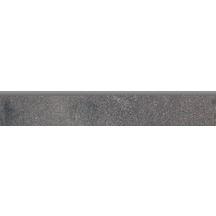 Grès cérame Cinca Factory anthracite mat plinthe 8x50cm 8823ROD