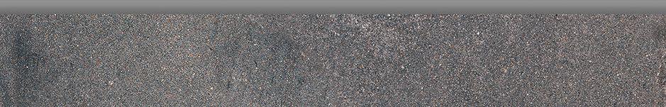 Plinthe grès cérame Factory - anthracite - 8x50 cm