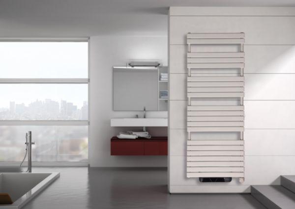 Sèche serviette électrique avec soufflerie CONCERTO 2 H: 1520 L: 506 750 + 1000W blanc