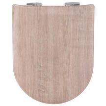 Abattant WC WOOD SLIM bois réticulé