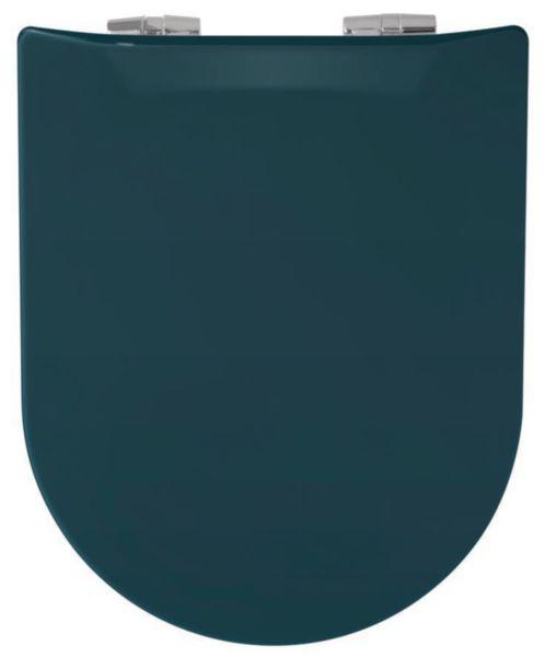 Abattant WOOD SLIM descente assistée bleu astral réf. 7WD08418801