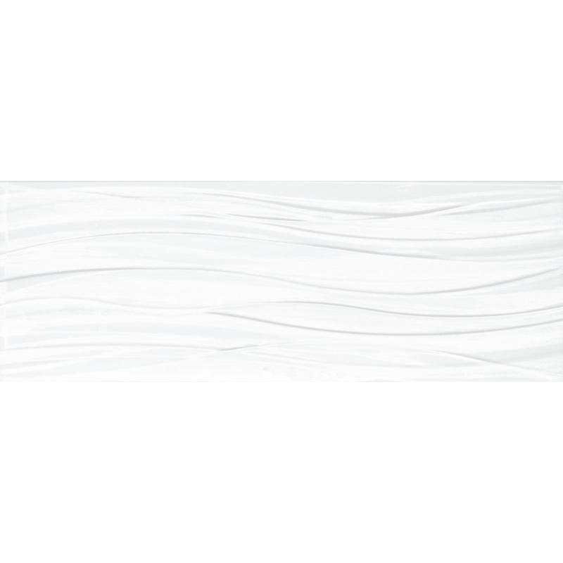 Faïence Arte Home Egerie blanco brillant décor 25x70cm