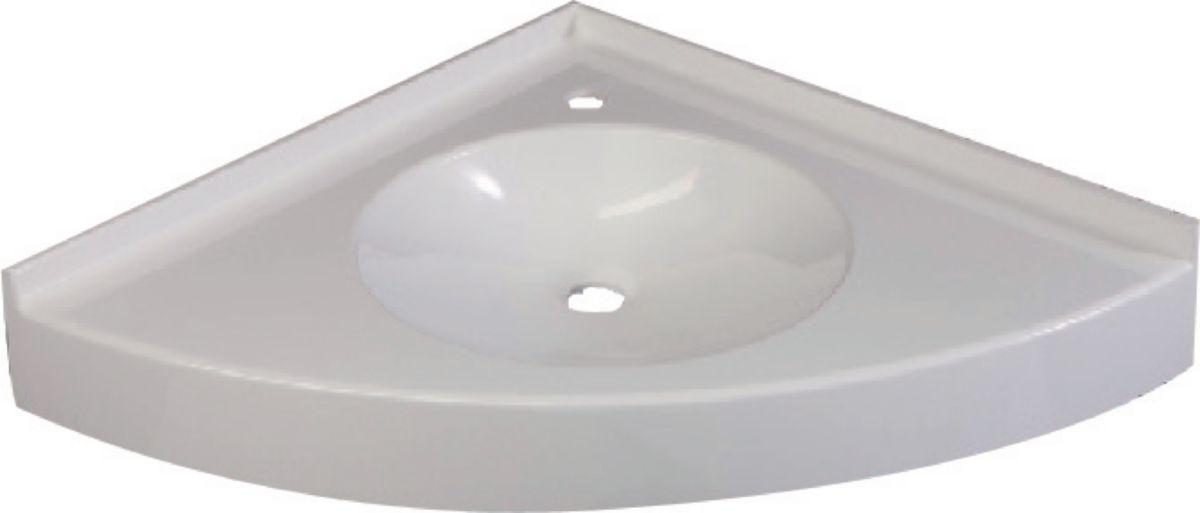 Csi Plan Vasque Dangle Virginie 65 X 65 Cm Vasque D38 Cm Prof