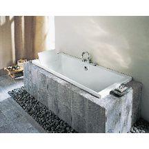 beautiful baignoire evok x avec pieds rglables blanc e. Black Bedroom Furniture Sets. Home Design Ideas