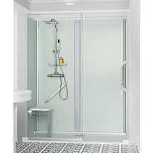 Cabine de douche Kinemagic 6 170x70 niche coulissant haut transparent serenite thermo réf K61707NHCTN3GSX