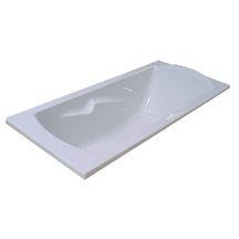 baignoire encastrer ou poser ulysse 2 160x75cm blanc. Black Bedroom Furniture Sets. Home Design Ideas