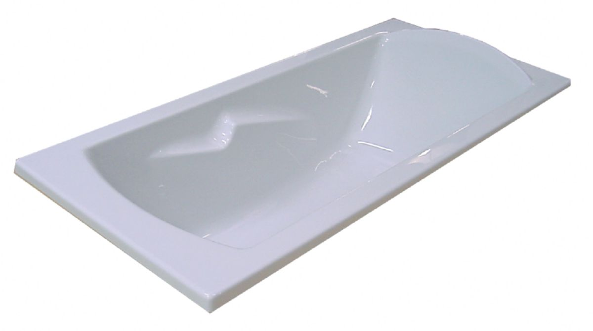 Baignoire A Encastrer Ou A Poser Ulysse  Xcm Blanc Ref P Porcher Sanitaire Cedeo