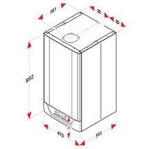chaudi res gaz isotwin condens f25 au gaz naturel 18kw classe nerg tique a a r f 0010017345. Black Bedroom Furniture Sets. Home Design Ideas