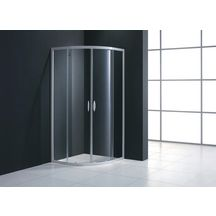paroi de douche 14 de cercle mezzo extensible de 87 89 cm verre - Paroi De Douche Avec Retour Pivotant