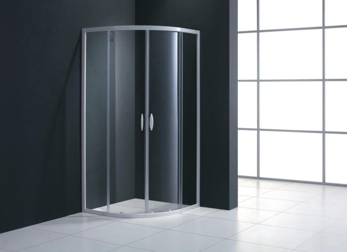 paroi de douche coulissante de rond mezzo l80 cm envie de salle de bain. Black Bedroom Furniture Sets. Home Design Ideas