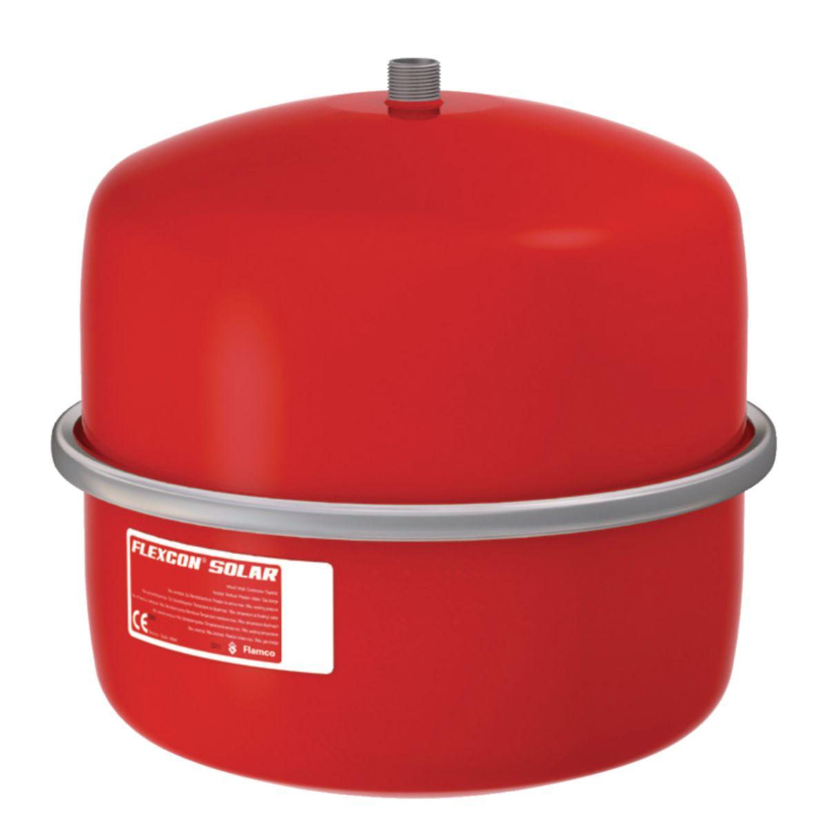 Flamco vase d/'expansion flexcon solaire 25 l pour panneaux solaires 16063