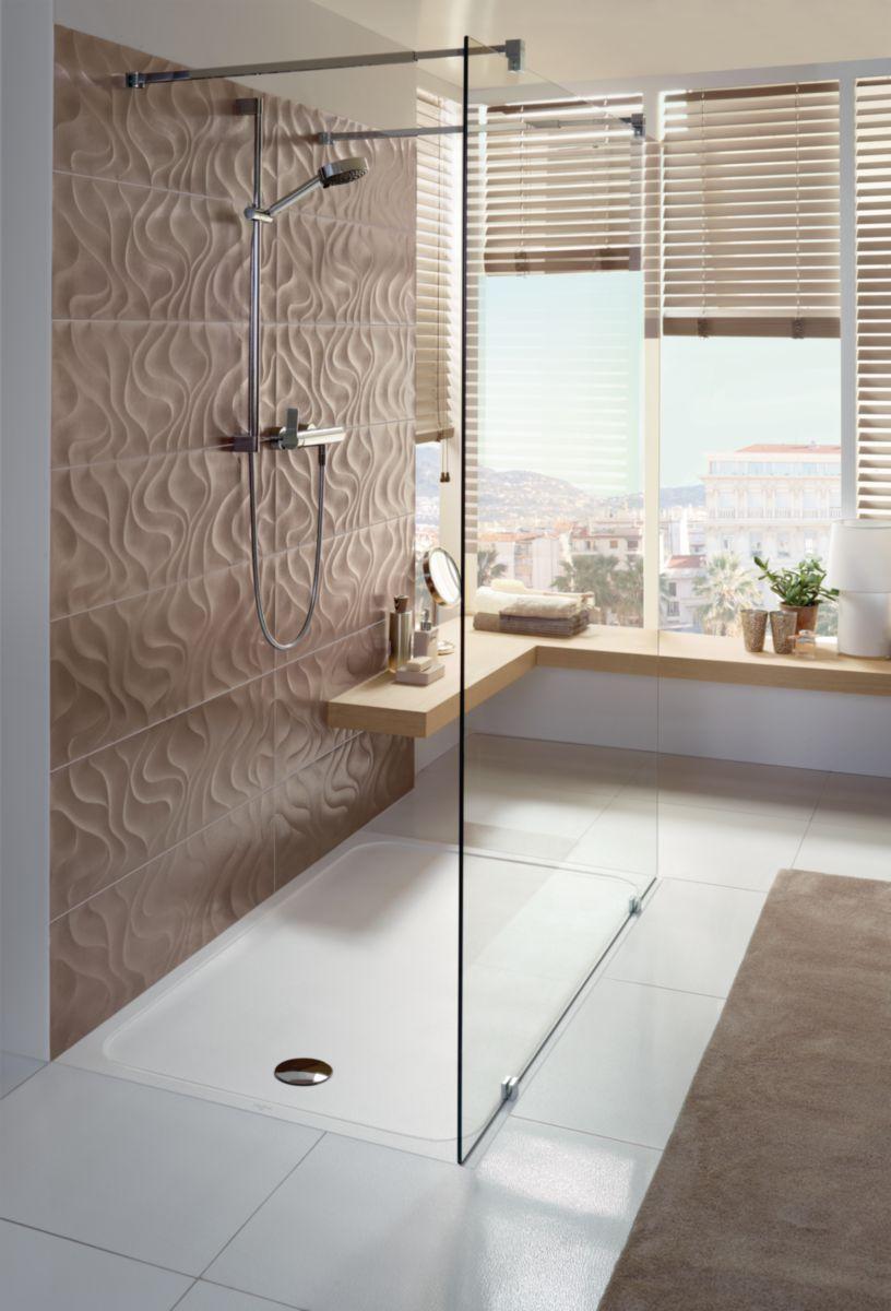receveur de douche villeroy et boch 120x90