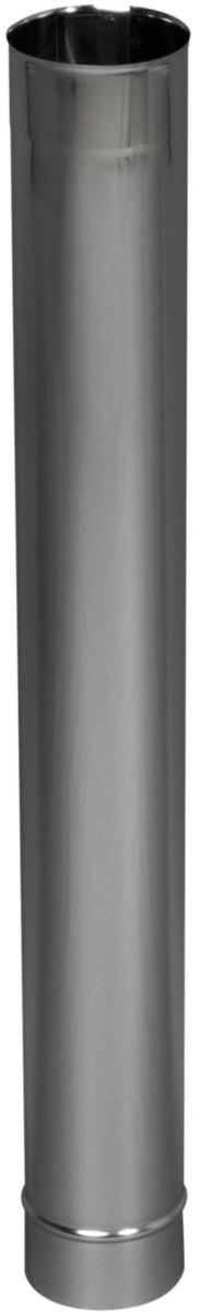 Tuyau rigide Inox 304 diamètre : 250 Lg : 1000 mm Tous combustibles réf. 601250