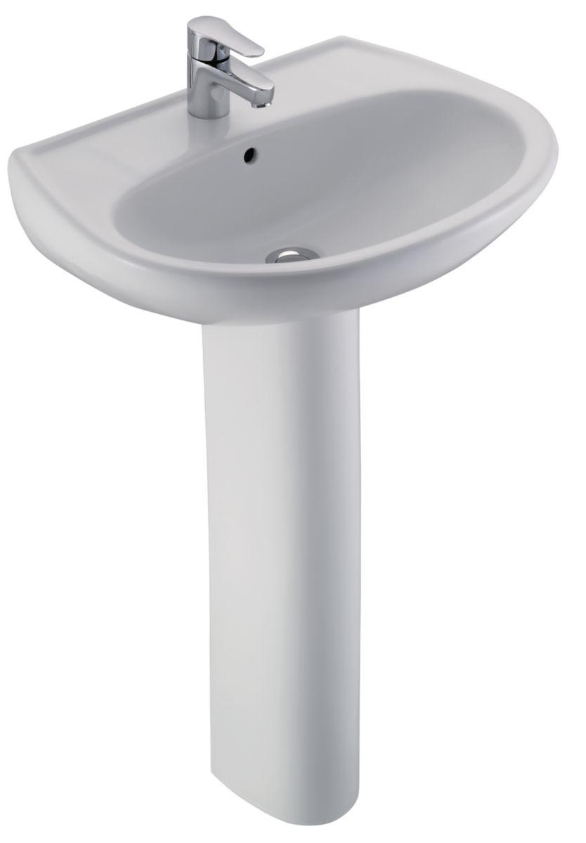 jacob delafon lavabo Colonne pour lavabo Brive blanc réf E444400. JACOB DELAFON
