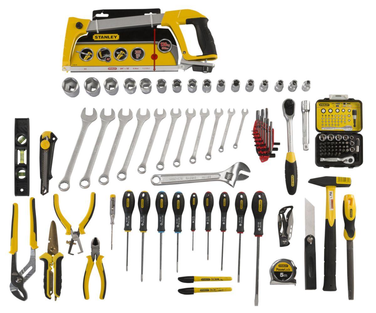 Valise de maintenance équipée a roulettes, réf. FMST1-75530