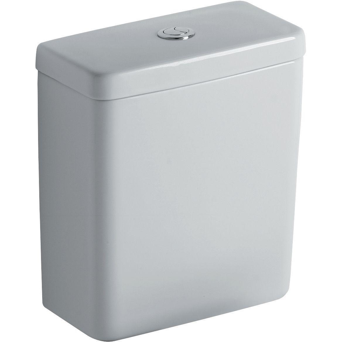 Réservoir CONNECT CUBE 3,6 litres pour ensemble WC CUBE avec alimentation latérale, blanc Réf. E797101