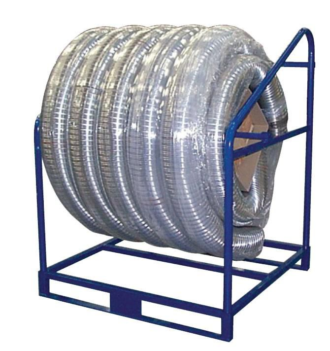 Flexible TEN INOX Diamètre 140 / 46 dérouleur métallique 50 m réf. 052140