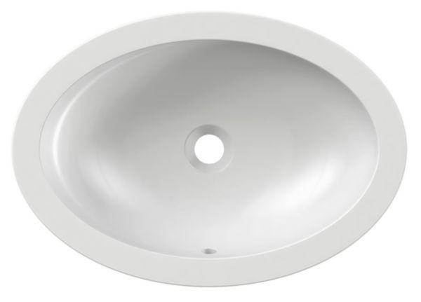 Vasque à encastrer ovale VOX