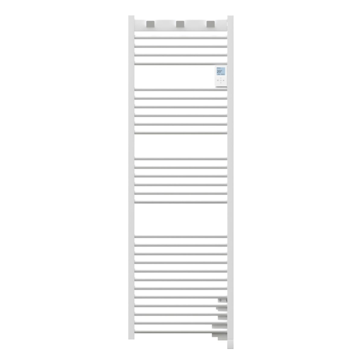 Radiateur sèche serviettes doris digital 750 w blanc réf 850140