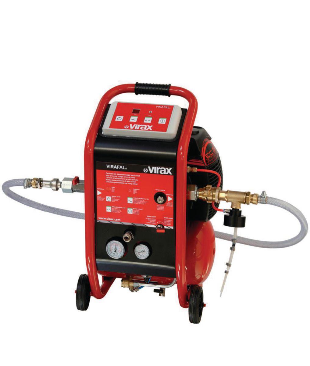 Centrale de désembouage haut débit + injecteur + réducteur pression réf. 295053