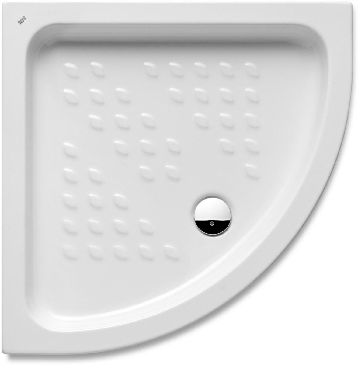 receveur de douche poser c ramique italia angle 750 x 750 mm blanc r f a3740hn000 roca. Black Bedroom Furniture Sets. Home Design Ideas