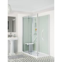 Cabine de douche Kinemagic 6 160x90 angle coulissant haut transparent serenite thermo réf K61609AHCTN3GS8