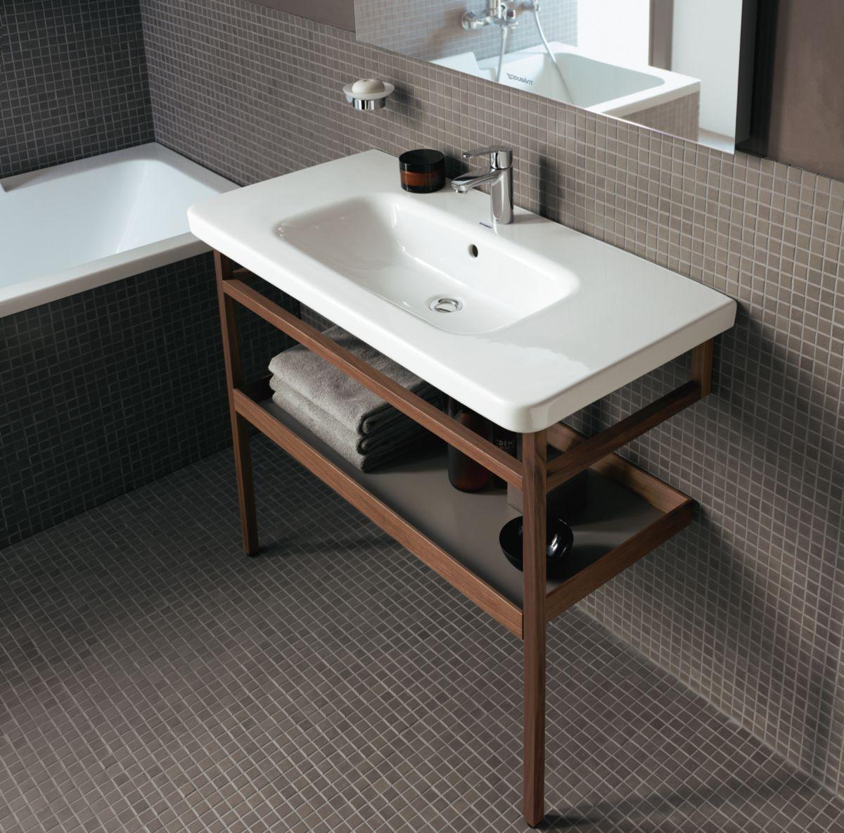 Salle De Bain Pour Homme ~ Lavabo Pour Meuble 100 Cm Durastyle Blanc R F 2320100000 Duravit