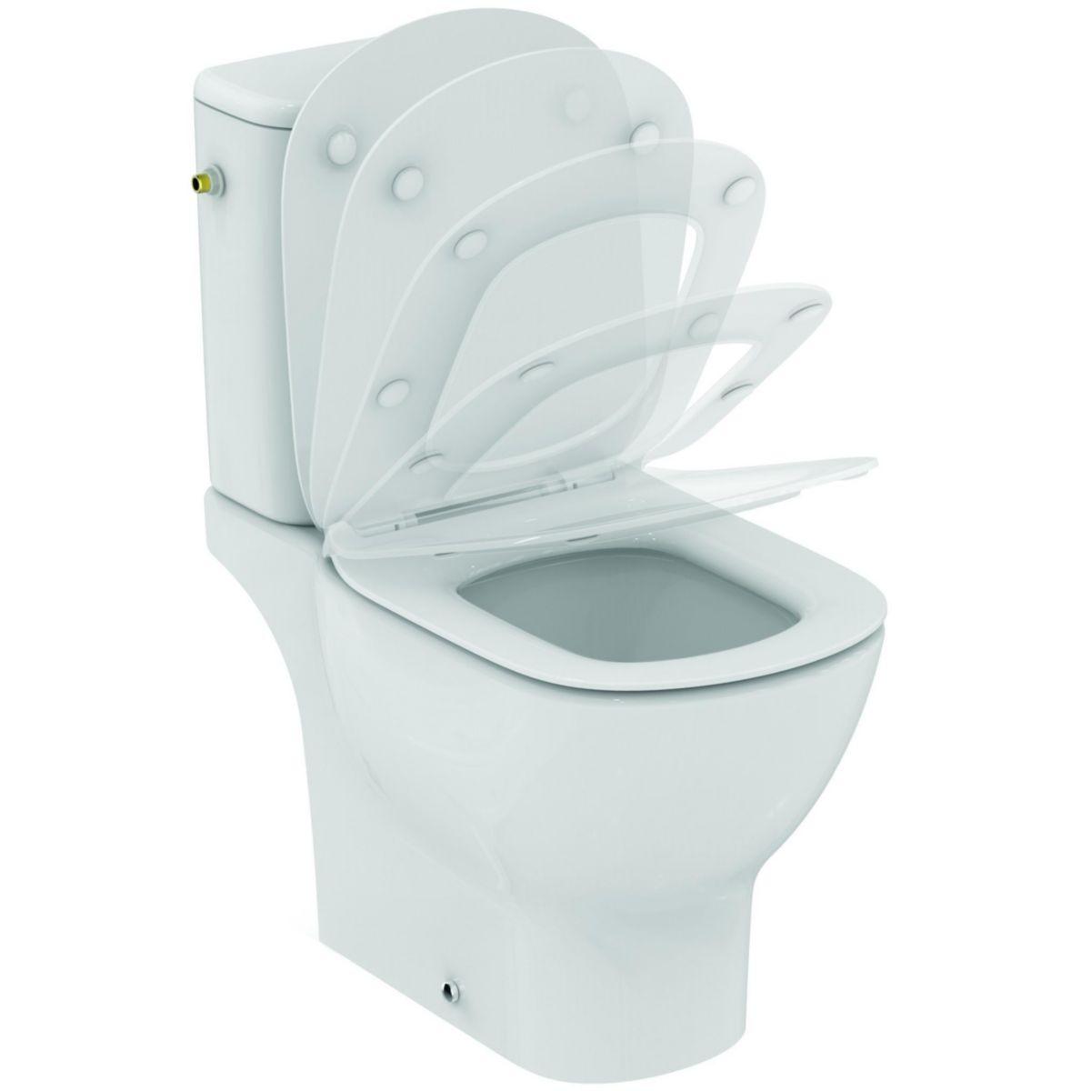 ideal standard pack wc sur pied tesi aquablade sortie. Black Bedroom Furniture Sets. Home Design Ideas