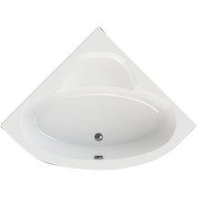 Baignoire d'angle VERSEAU 3 135 x 135 cm acrylique blanc
