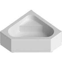 Tablier pour baignoire d'angle CONCERTO 3 140 x 140 cm blanc