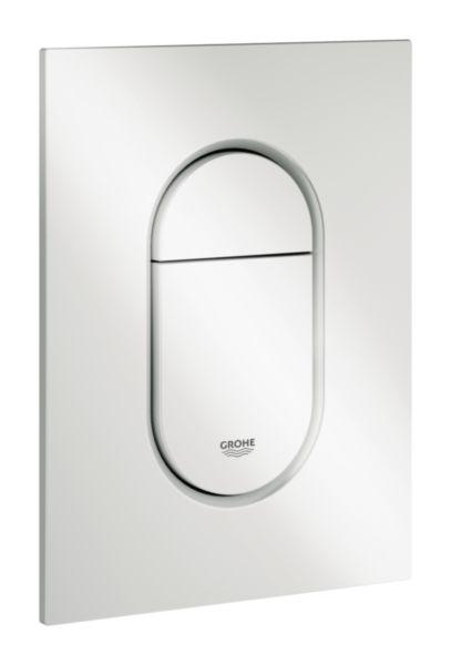 Plaque de commande WC ARENA COSMOPOLITAN S Blanc Alpin Réf. 37624SH0