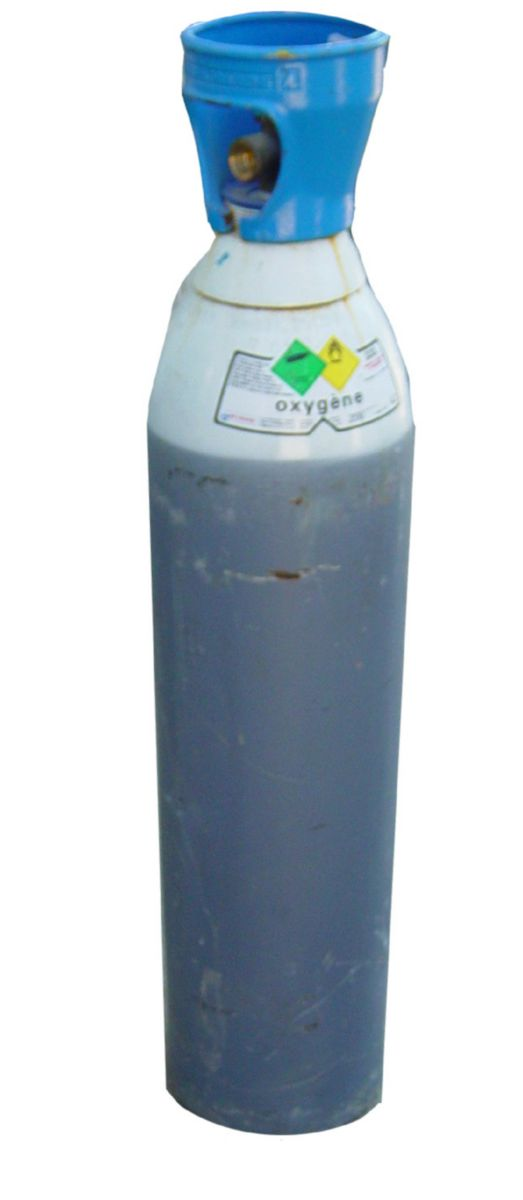 Oxygène Bouteille medium 4,2m3 Réf. G150 / I1001M20R2A001