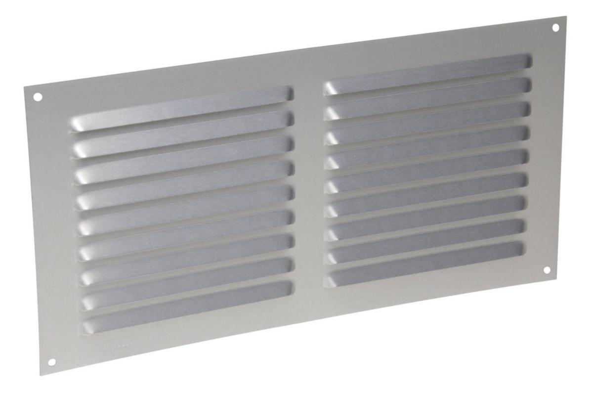 Grille da/ération en aluminium 80/mm grille da/ération ventilation Ventilation T/ôle en aluminium 600/mm