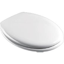 Abattant RD2 double blanc charnieres inox Réf 7RD9001D