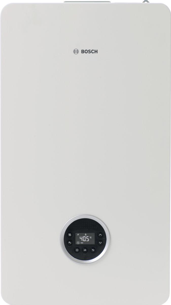 Chaudière murale gaz à condensation avec ECS Condens 8300i W 30-35kW blanche classe énergétique A/A Réf 7738100828