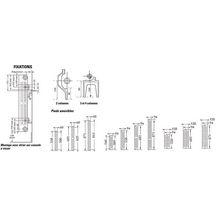 radiateur en fonte horizontal savane rafael 2 type s3 puissance 132 watts largeur 102 mm hauteur. Black Bedroom Furniture Sets. Home Design Ideas