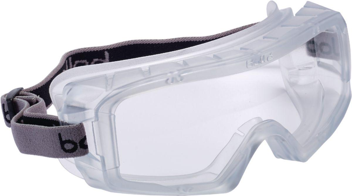 Lunettes masque de protection verre incolore COVERALL