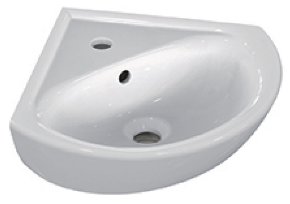 Lave-mains d'angle ULYSSE 34 cm blanc Réf. E899701