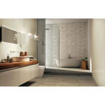 Carrelage mural int�rieur fa�ence Start white clay - 26x60,5 cm