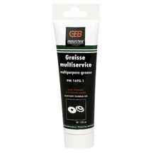 Graisse multiservice 1695 tube de 125ml réf 651145