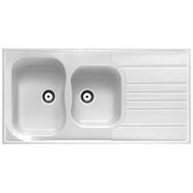 Eviers cuisine sanitaire brossette for Evier 120x60 resine