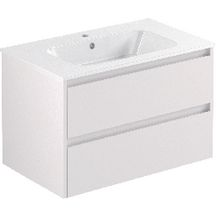 Meuble All Day sous-vasque 86 cm blanc