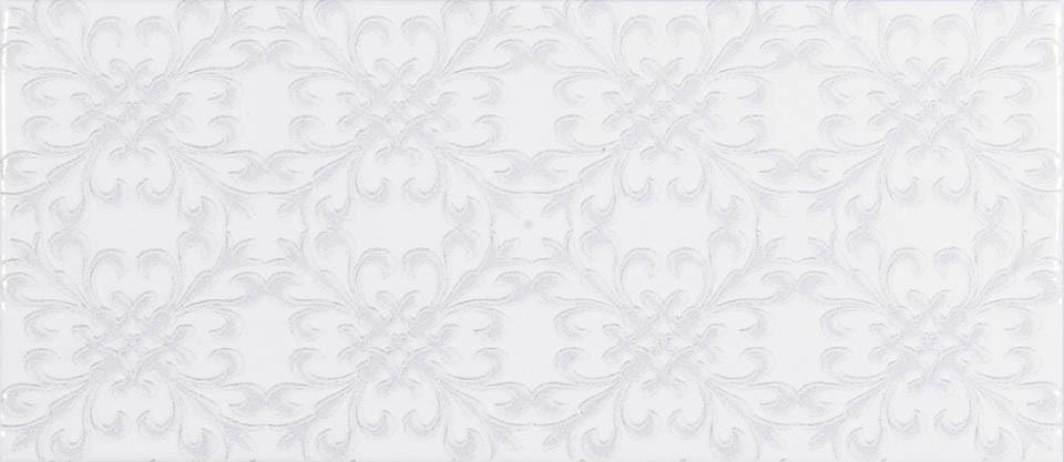 Faïence Roca Maiolica white décor 11x25cm FBX3THD011