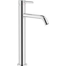 Mitigeur lavabo bec haut DESIGN, avec vidage Clic-Clac