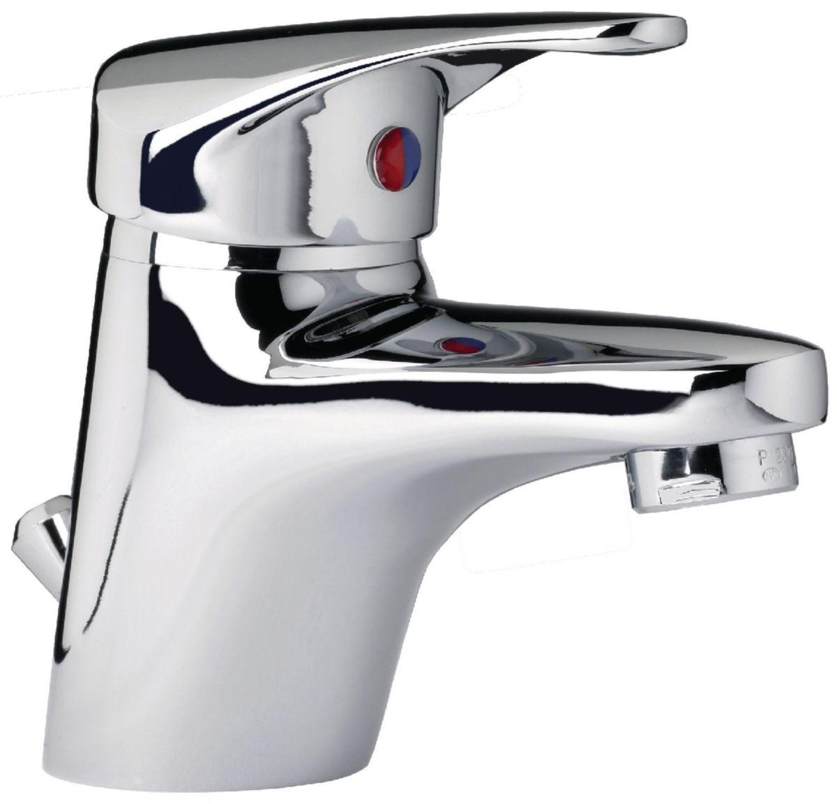 Mitigeur lavabo MEZZO 2 vidage ABS cartouche céramique avec point