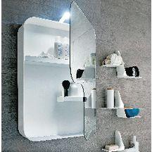 Armoire de toilette QUADRA L 50 cm