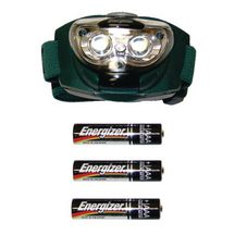 Lampe Frontale 3 led + 3 R03 Energizer Réf EHLL