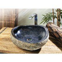 Vasque à poser IVELA pierre de rivière